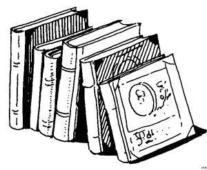 графический рисунок - книги