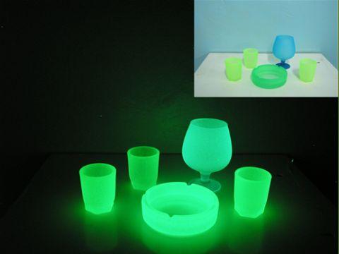 самосветящаяся краска для стекла и стеклянных поверхностей