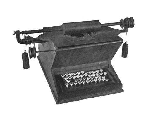 печатная машинка Шоулса и Глиддена