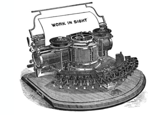 Печатная машинка Хаммонда