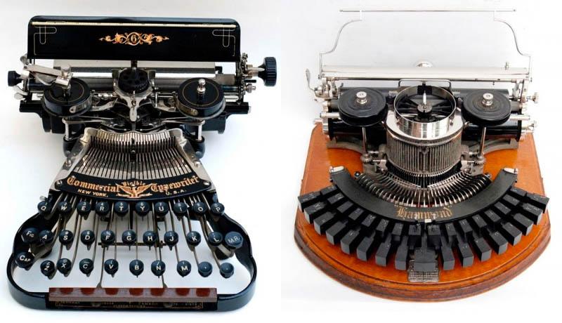 Необычные печатные машинки