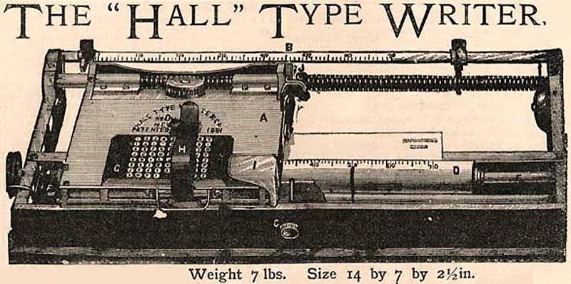 Линейная пишущая машинка