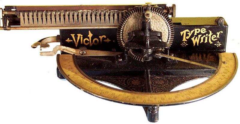 Печатная машинка «Виктор» 1890 года
