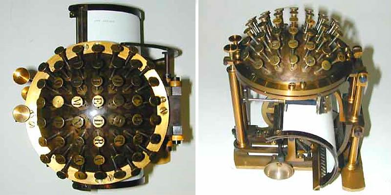 Печатные машинки в виде шара