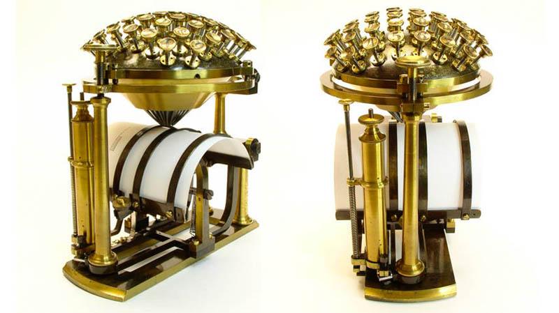 Миниатюрный «печатный шар»
