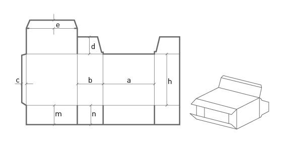 Коробка для автоматических линий