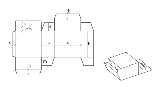 Коробка с дополнительным элементом