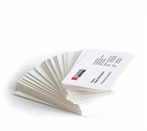 веер визитных карточек